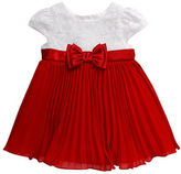 Sweet Heart Rose Sweetheart Rose Baby Girls Pleated Lace Dress