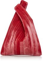 Hayward Rolled Velvet Mini Shopper