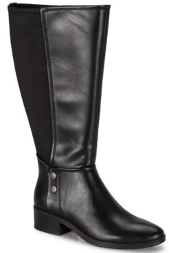 Bare Traps Baretraps Women's Madelyn Wide-Calf Boots Women's Shoes
