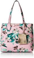 Nine West Caden Pink Floral Tote Bag