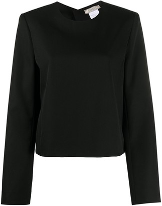 Nina Ricci Cut Out Blouse