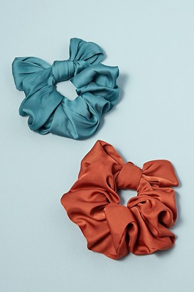 Set of 2 Bow Scrunchies