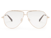 Stella McCartney Oversized aviator glasses