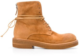 Marsèll Zip-Back Military Boots