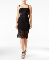 Trixxi Juniors' Lace Slip Dress