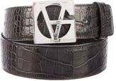 Gianni Versace Embossed Leather Belt