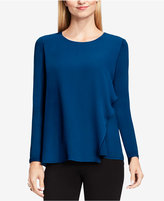 Vince Camuto Asymmetrical Ruffled Top