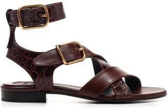 Chloé Daisy Flat Sandals