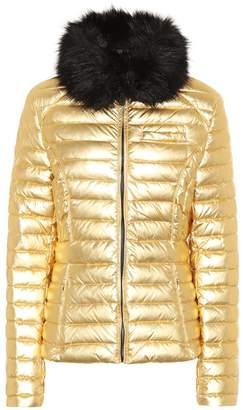 Hunter Faux fur-trimmed down coat