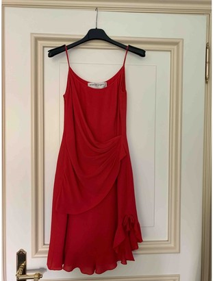 Ungaro Red Silk Dresses