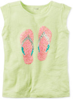 Carter's Embellished Graphic-Print Cotton T-Shirt, Little Girls (2-6X) & Big Girls (7-16)