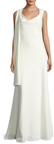 Narciso Rodriguez Women's Scarf Neck Gown