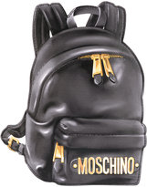 Moschino trompe l'oeil backpack illusion clutch
