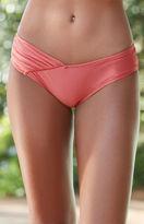 MinkPink Just Peachy Ruched Skimpy Bikini Bottom
