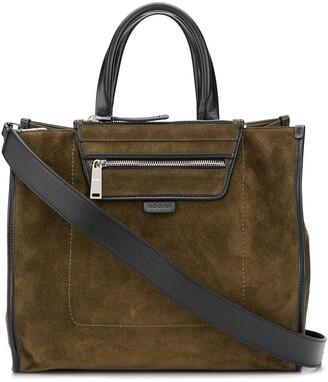 Hogan Zipped Large Shopping Bag