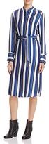 St. Emile Striped Silk Tunic