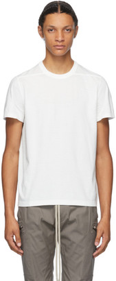 Rick Owens White Small Level T-Shirt