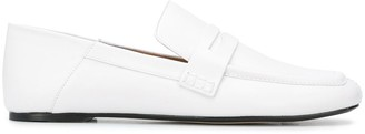Joseph collapsible-heel loafters