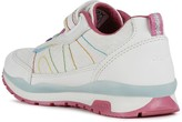 Geox Girls Pavel Strap Trainers - White Multi