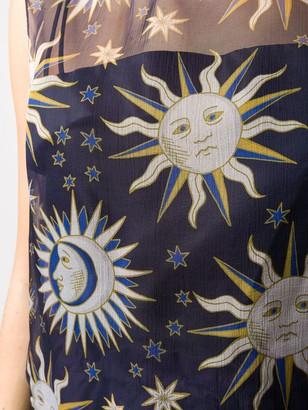 Maison Rabih Kayrouz Sun Print Lightweight Blouse