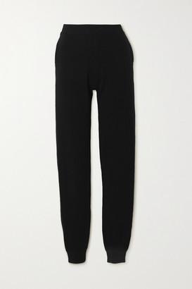 Tom Ford Cashmere-blend Track Pants - Black