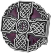 Buckle Rage Adult Unisex Celtic Iron Cross Maltese Intricate Belt Buckle Silver