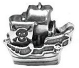 Zable Pirate Ship Lifestyles Sterling Silver Charm