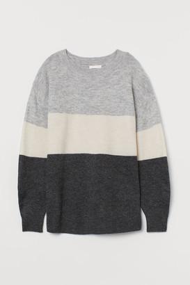 H&M MAMA Fine-knit jumper