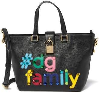 Dolce & Gabbana Printed Leather Crossbody Bag
