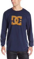 DC Men's Star Long Sleeve Tee Shirt