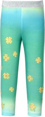 Truly Me Kids' Embellished Clover Ombre Leggings