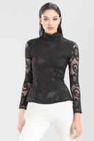 Josie Natori Novelty Lace Top