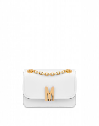 Moschino M Shoulder Bag Woman White Size U It - (one Size Us)