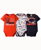 Gerber Babies' Chicago Bears 3-pack Bodysuit