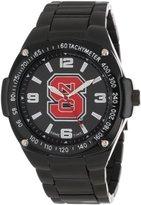 Game Time Unisex COL-WAR-NCS Warrior North Carolina State Analog 3-Hand Watch