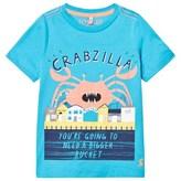 Joules Blue Crabzilla Print Tee