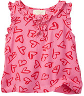 Kate Spade Heart Nellie Top (Toddler & Little Girls)
