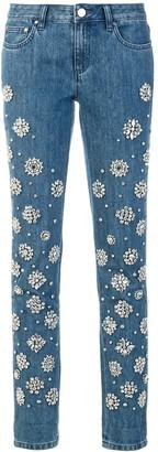 MICHAEL Michael Kors embellished jeans