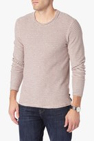 7 For All Mankind Long Sleeve Striped Jersey Tee