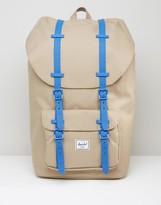 Herschel Supply Co Little America Backpack In Beige 25l