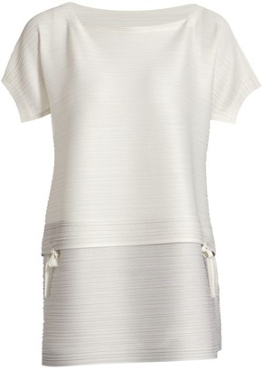 Pleats Please Issey Miyake Stone Garden Gradation Top