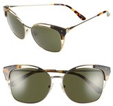 Tory Burch Women's 56Mm Cat Eye Sunglasses - Gold/ Tokyo Tortoise