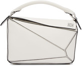 Loewe White Small Puzzle Bag