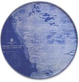 Caskata Chart Everglades Platter - 12.5 blue