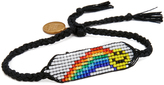 Venessa Arizaga Rainbow Smiley Bracelet