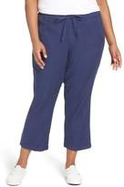 NYDJ Plus Size Women's Jamie Wide Leg Crop Pants