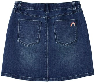 Joules Girls Hollis Denim Skirt - Denim