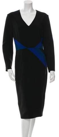 Altuzarra Patterned Sheath Dress w/ Tags
