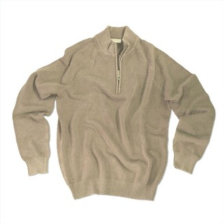 Madda Fella Balao Quarter Zip Sweater