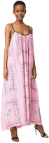 Natasha Zinko Printed Halter Maxi Dress